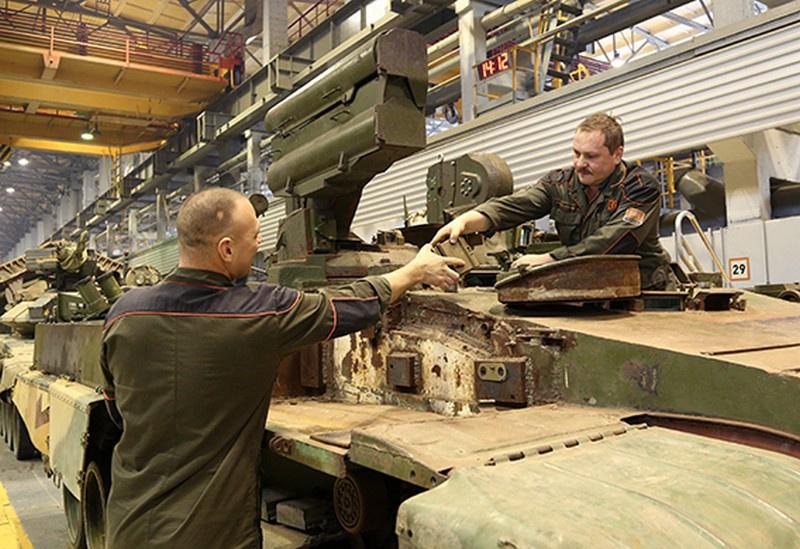 Уралвагонзавод завершает восстановление «объекта 781».