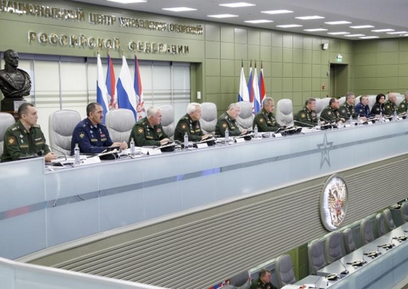 Селекторное совещание с руководящим составом Вооружённых сил 8 сентября 2020 г.