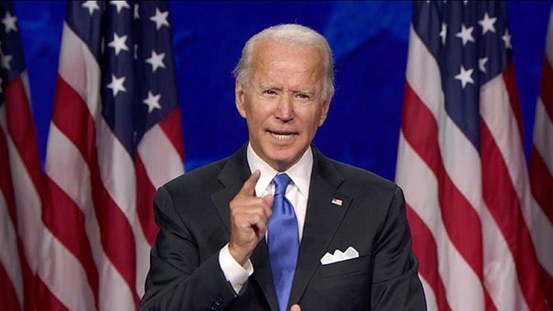 Кандидат в президенты от Демократической партии Джо Байден