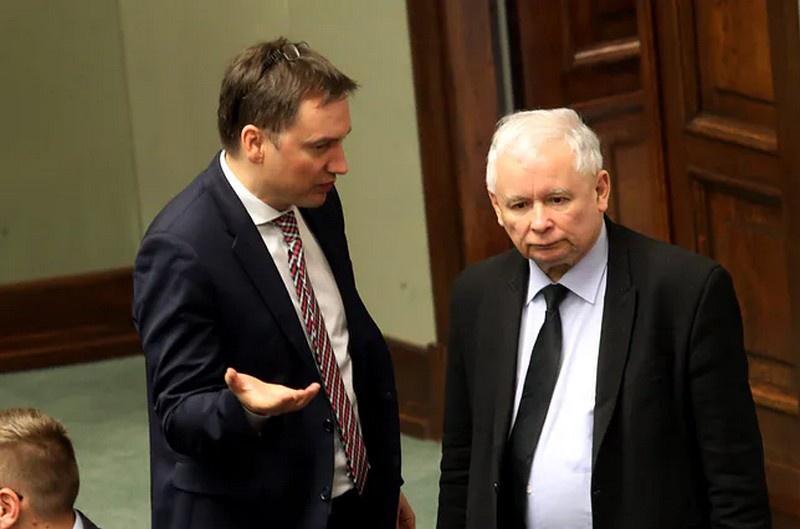Збигнев Зебро и Ярослав Качиньский.