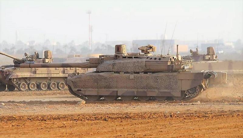 Танк Leclerc армии ОАЭ.