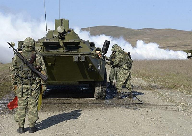 Впервые тактику создания «коридора безопасности» в районе применения оружия массового поражения использовали подразделения РХБ защиты 49-й общевойсковой армии ЮВО.