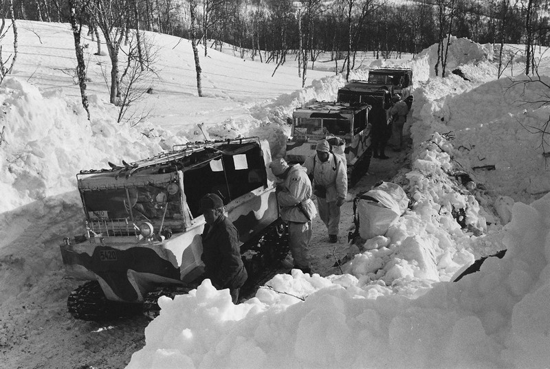 В марте 1976 года в учениях AMF «Атлас Экспресс» было задействовано 13 тыс. норвежских и союзных войск на севере Норвегии.
