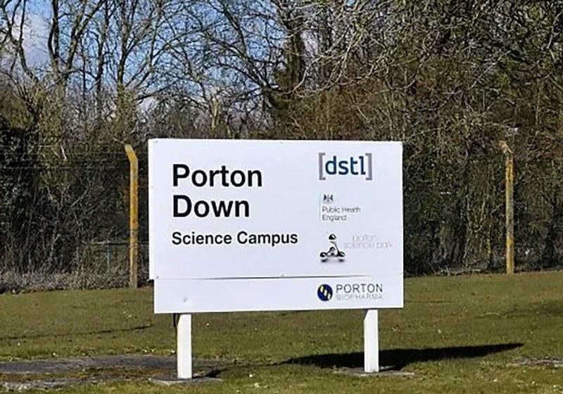 Центр химико-биологического оружия в британском Портон-Дауне, где производили «Новичок» и где были искажены анализы Навального.