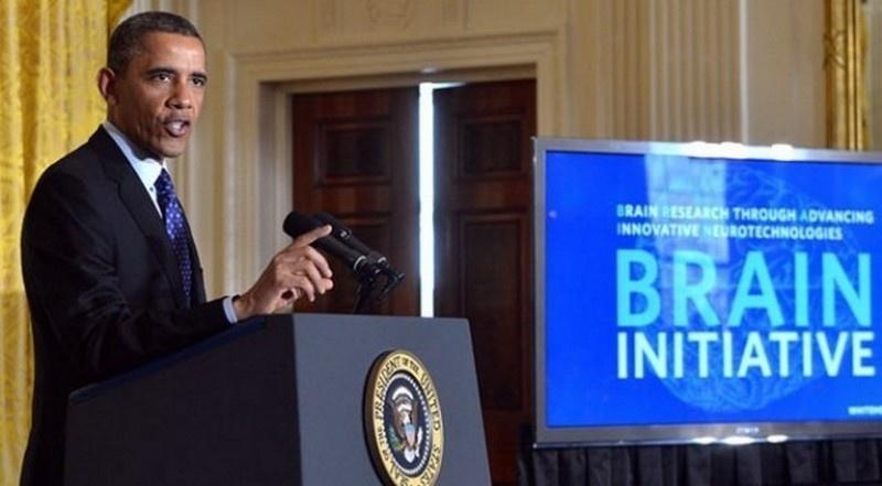 В 2013 году Обама объявил о создании 12-летней инициативы «BRAIN» для расшифровки функционирования человеческого мозга.