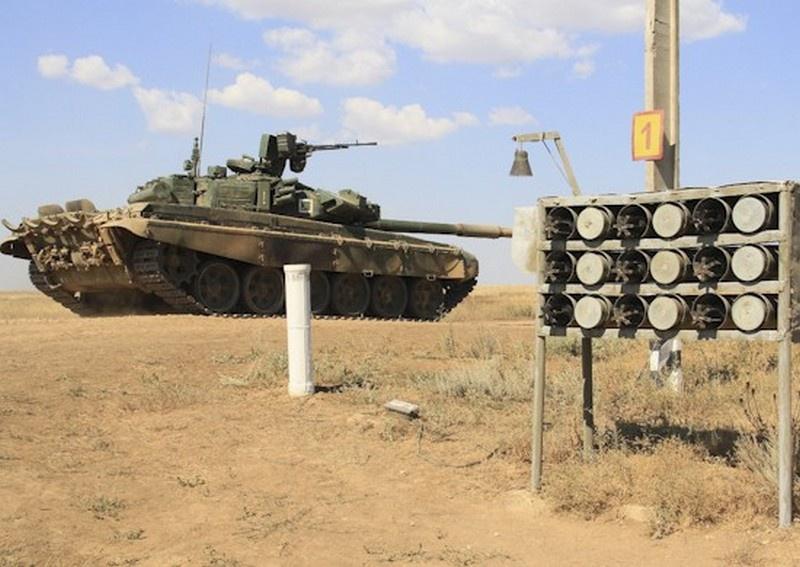 Танкисты соединения ЮВО в Волгоградской области подтвердили статус «Ударного» подразделения.