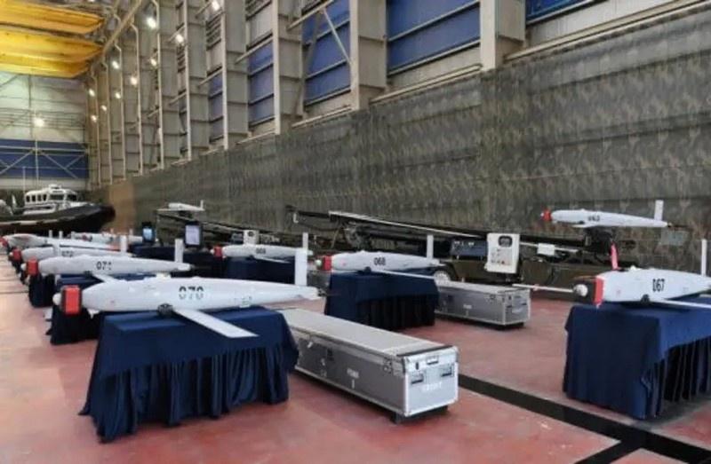 Приобретённые Азербайджаном израильские малые ударные одноразовые беспилотные летательные аппараты SkyStriker.
