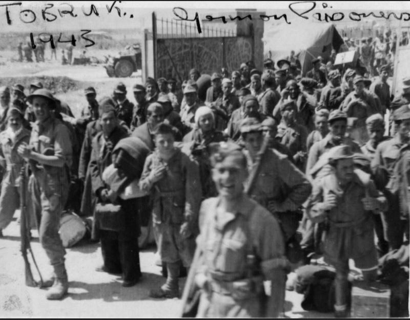 Рабский труд военнопленных использовался на вспомогательных работах в африканской армии Роммеля.