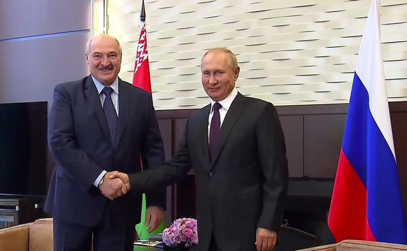 Встреча с Президентом Белоруссии Александром Лукашенко 14 сентября 2020 г.