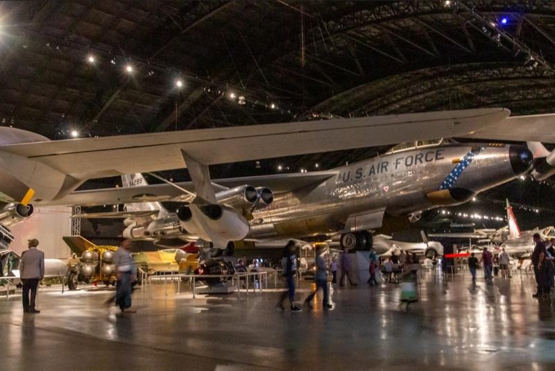 Boeing RB-47 Stratojet в Музее ВВС США. Дейтон, Огайо.