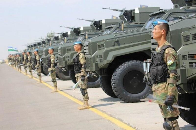 Армия Узбекистана, стоящая по военной мощи выше Румынии и Беларуси, в последние годы помимо США получила вооружение из Франции, Испании, Чехии, Британии.