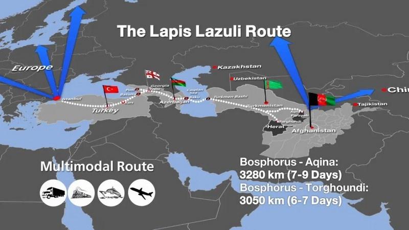 Баку официально участвует в американских военно-политических региональных программах, вроде «Лазуритового коридора» по поставкам западных товаров в Афганистан.