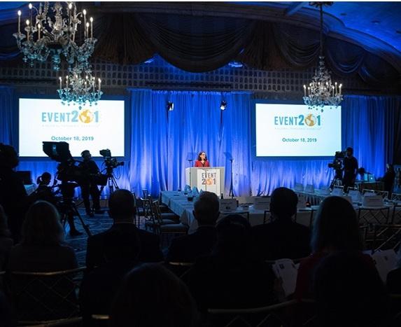 В Нью-Йорке прошли командно-штабные пандемические учения Event 201, инициаторами которых стали Центр безопасности здоровья Джонса Хопкинса, Всемирный экономический форум и Фонд Билла и Мелинды Гейтс.