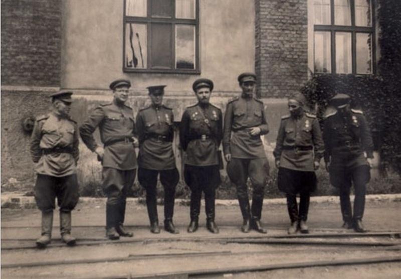 Александр Казанцев во время войны.