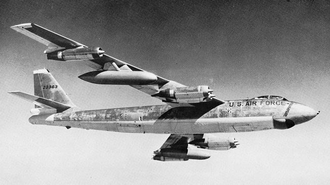 Самолёт-разведчик RB-47: о возвращении забыть