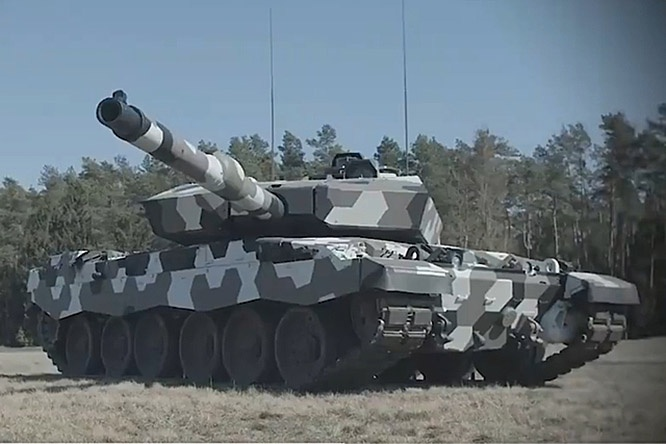 Rheinmetall Main Battle Tank MBT с новой 130-мм пушкой L51.