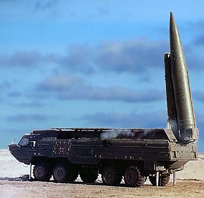 Оперативно-тактический ракетный комплекс «Ока».