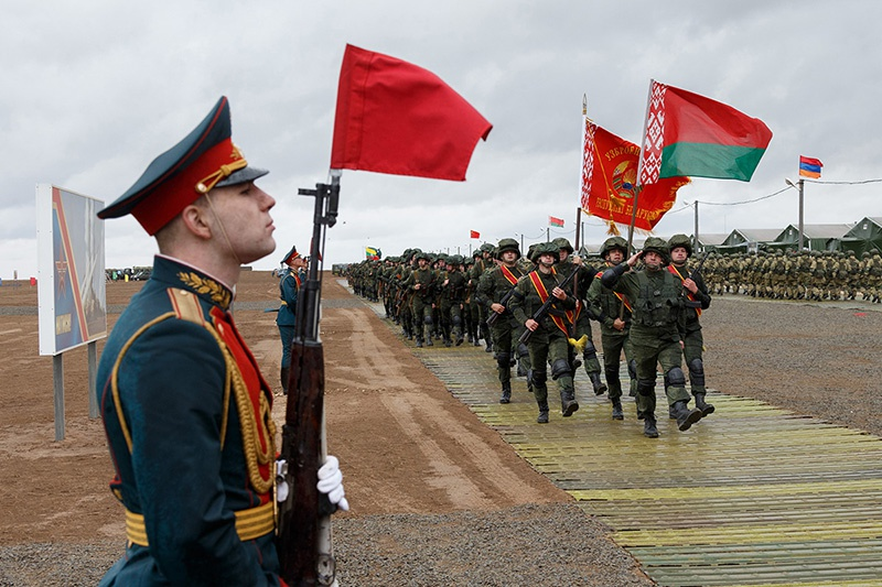 В конце сентября 2020 года белорусские военнослужащие приняли участие в учении «Кавказ-2020» на полигоне Капустин Яр.