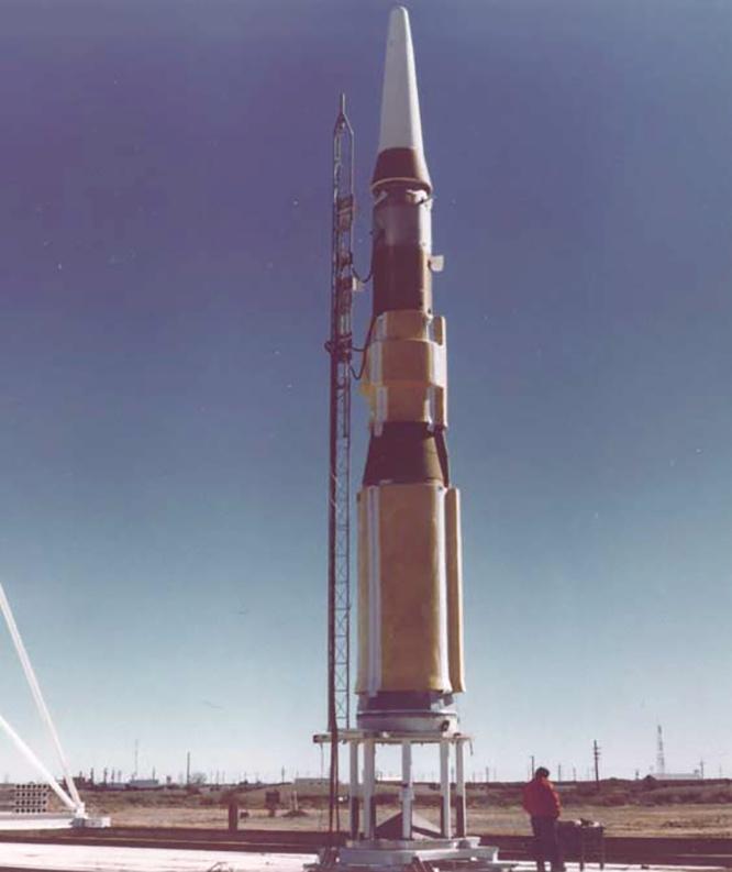 Американская ракета средней дальности «Гера».