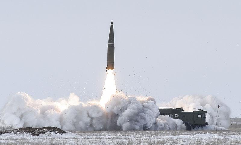 Оперативно-тактический ракетный комплекс 9К720 «Искандер».
