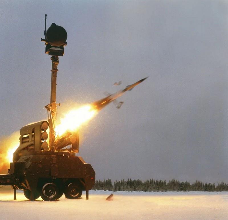 Зенитно-ракетный комплекс RBS 23 Bamse.