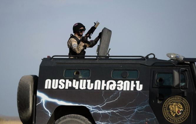 Спецназ Минобороны Армении.