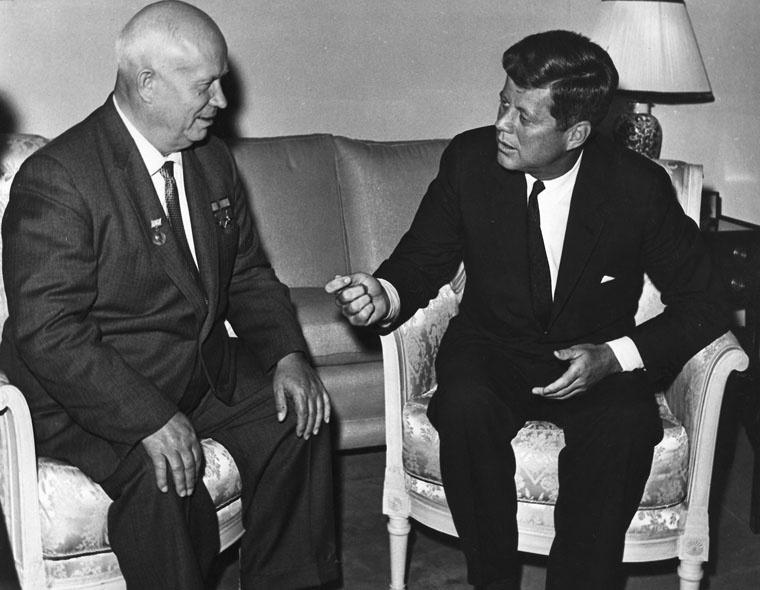 Венская встреча Никиты Хрущёва и Джона Кеннеди.