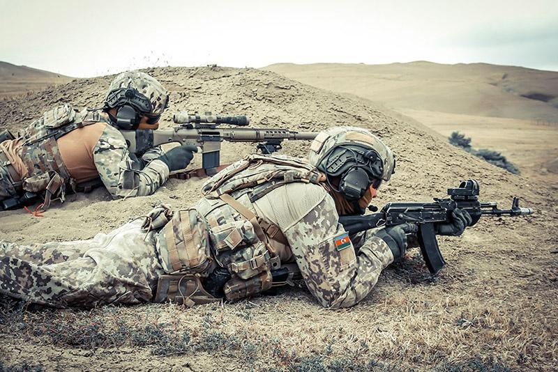 Силы специального назначения Министерства обороны Азербайджана предназначены для организации и ведения специальных операций.