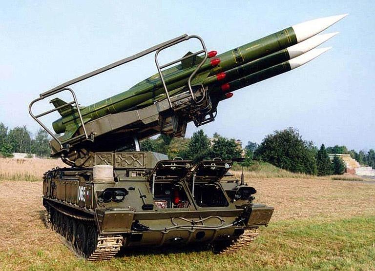 В ПВО Армении по-прежнему состоит на вооружении советский мобильный ЗРК войсковой ПВО «Куб».