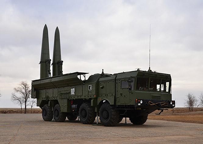 На вооружении армянской армии находятся 4 ОТРК 9К270 «Искандер».