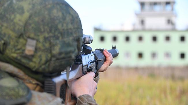 Антитеррор: «террористов» прикончили, не жалея патронов!