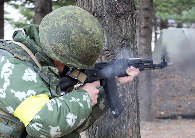 Бой» с «террористами» в Амурской области был коротким.