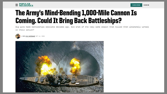 Жюль Верны в Пентагоне: США придумали пушку для уничтожения России