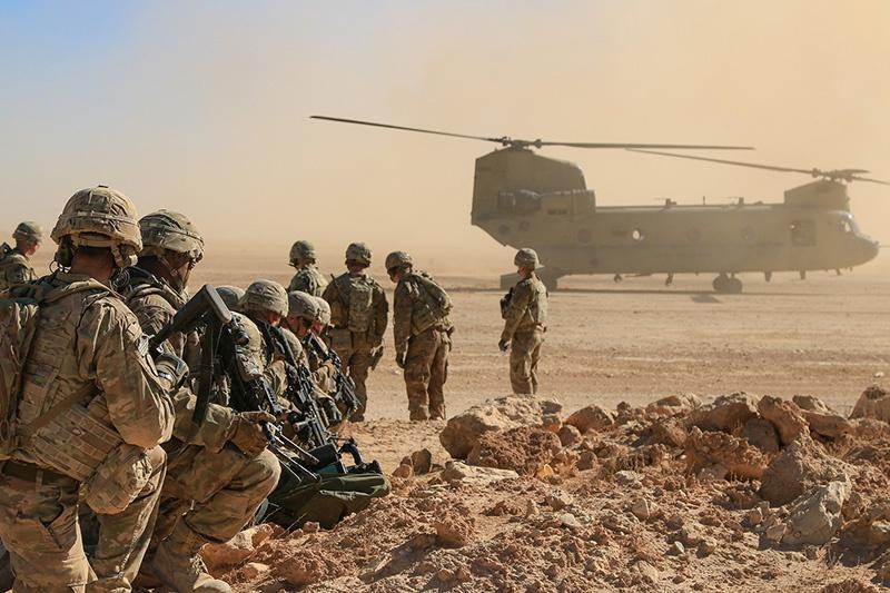 Джозеф Байден дал понять, что будет готов сохранить некоторую часть американских экспедиционных вооружённых сил на Ближнем и Среднем Востоке.