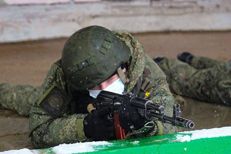 В учении на Рощинском полигоне ЦВО приняли участие более 500 военнослужащих.