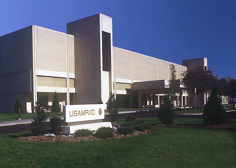 Медицинский научно-исследовательский институт инфекционных заболеваний армии США в Форт-Детрик.