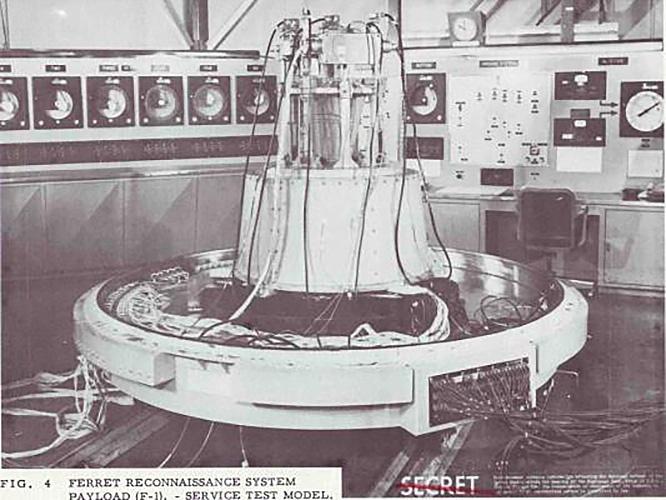 Разведывательный спутник «Феррет-D».
