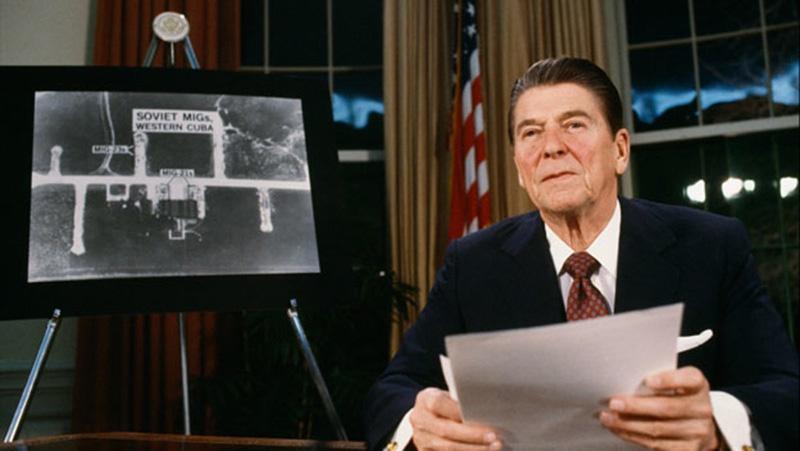 В апреле 1983 года Рейган огласил намерение США приступить к реализации программы СОИ.