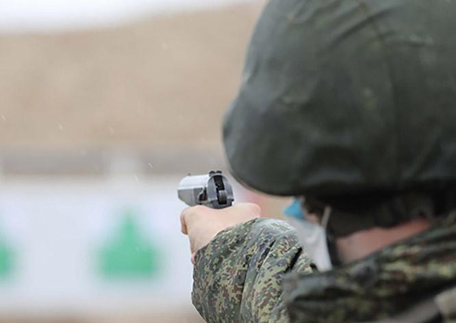 В Забайкальском крае, проходят учебно-методические сборы с командирами батальонов и дивизионов.