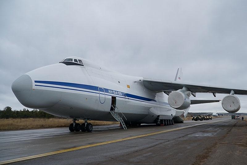 В составе ВТА насчитывается 26 самолетов Ан-124.