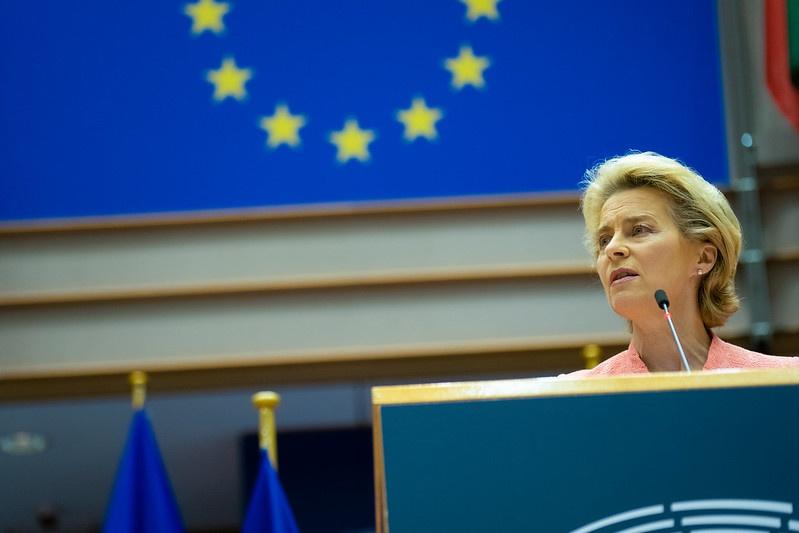 Руководитель Еврокомиссии Урсула фон дер Ляйен.