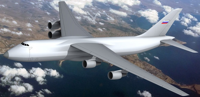 Концепция нового тяжелого транспортного самолета «Слон».