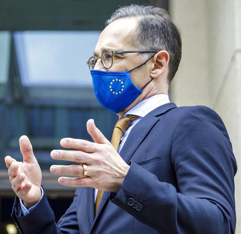 Министр иностранных дел Германии Хайко Маас охарактеризовал контрмеры Китая как «непонятные и неприемлемые».