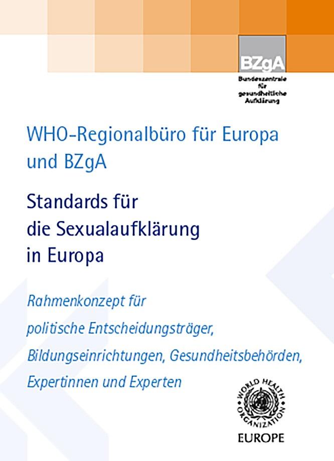 «Стандарты сексуального образования в Европе».