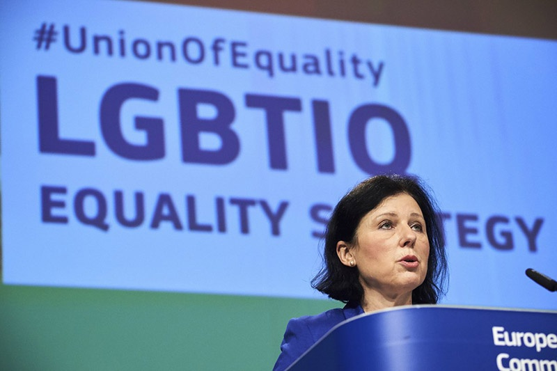 Комиссар ЕС по сохранению европейских ценностей и транспарентности Вера Йоурова.