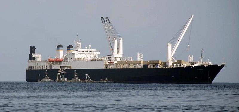 Бывший советский корабль «Владимир Васляев» служит в ВМС США под именем USNS Lance Cpl. Roy M. Wheat.