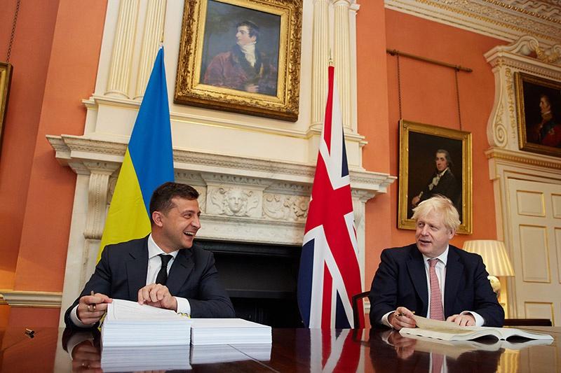 Украина в лице Великобритании обрела «надёжного» партнёра.