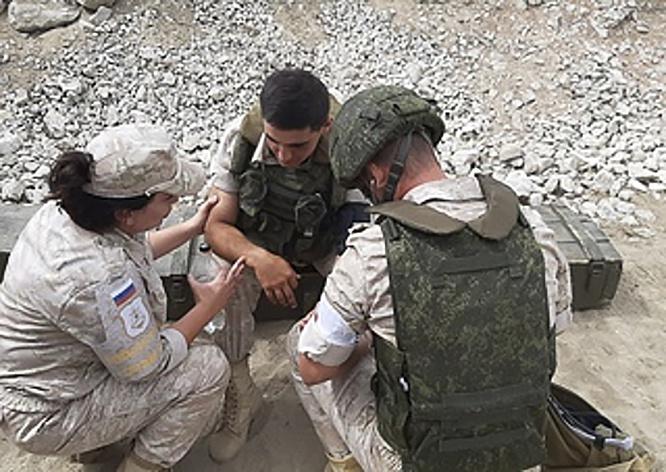 У каждого военнослужащего производился замер параметров психологического состояния до и после преодоления сложной полосы препятствий.