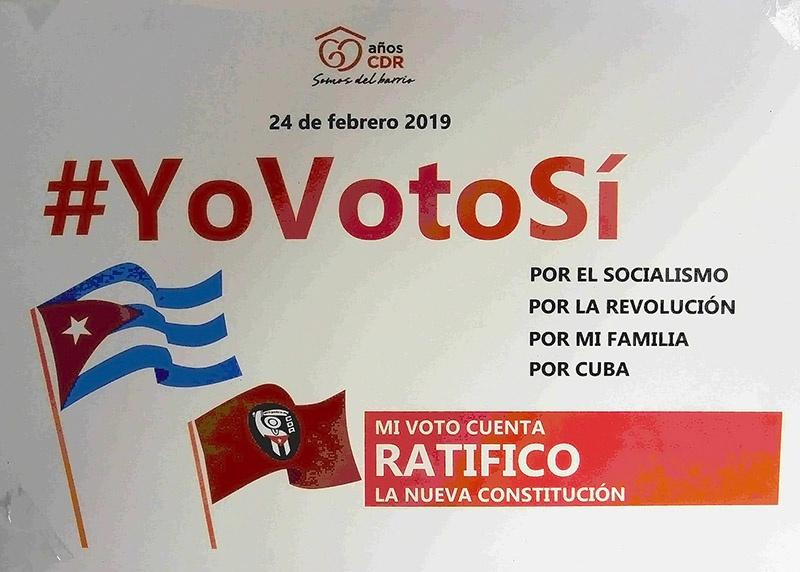 В феврале 2019 года на Кубе состоялся референдум об изменении конституции.