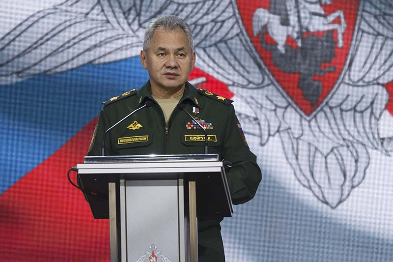 Министр обороны РФ генерал армии Сергей Шойгу.